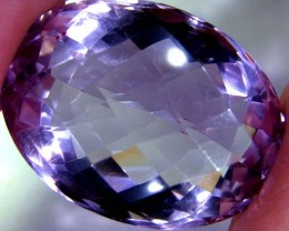 VVS AMETHYST FACETED HIGH QUALITY 64.12 CTS AS-A3196