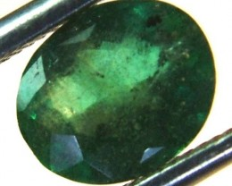 EMERALD FACETED BRAZIL  .95 CTS  AS-A3202