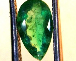 EMERALD FACETED BRAZIL  .75 CTS  AS-A3205