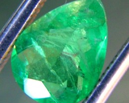 EMERALD FACETED BRAZIL 1.09  CTS  AS-A3209