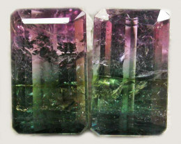 Watermelon Tourmaline Gemstones