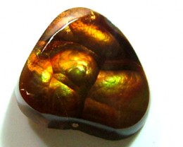 FIRE AGATE CUT STONE 12.25 CTS FP-1712 (PG-GR)
