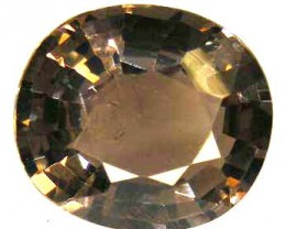 FACETED SMOKEY QUARTZ  5.71 CTS  90498