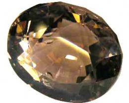 FACETED SMOKEY QUARTZ  6.77 CTS 90500