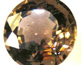 FACETED SMOKEY QUARTZ  6.14 CTS 90501