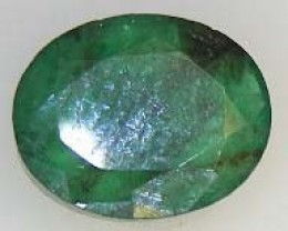 BEAUTIFUL  FACETED EMERALDS 1.45  CTS  90184