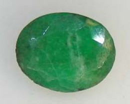 BEAUTIFUL  OVAL FACETED EMERALDS 1.11  CTS  90197