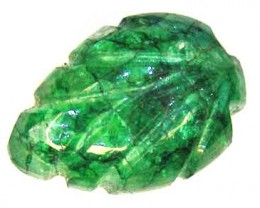 CARVED EMERALD  8.48 CTS  90202
