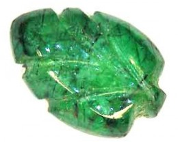 CARVED EMERALD 4.80 CTS  90208