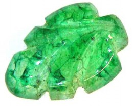 CARVED EMERALD  4.33 CTS  90213