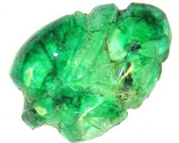 CARVED EMERALD 3.35 CTS  90218