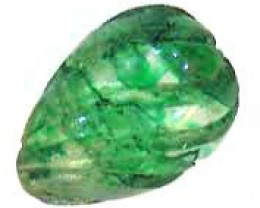 CARVED EMERALD  1.82 CTS  90228