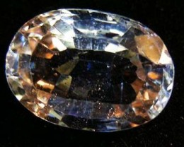 FACETED TOPAZ GEMSTONE 05.90  CTS 90354