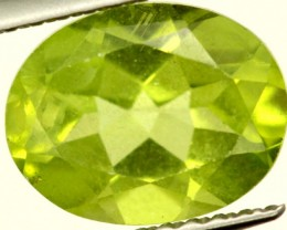 PERIDOT FACETED STONE 2 CTS PG-950