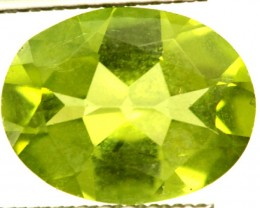 PERIDOT FACETED STONE 1.60 CTS PG-949