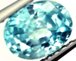 BLUE ZIRCON FACETED STONE 1.35 CTS  PG-1084