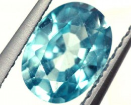 BLUE ZIRCON FACETED STONE 1.10 CTS  PG-1083