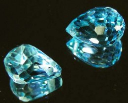 FACETED SWISS TOPAZ PARCEL  06.57 CTS 90240