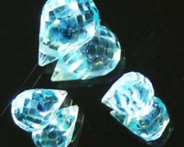 FACETED SWISS TOPAZ PARCEL 04.60 CTS 90244