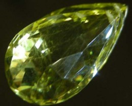 FACETED LEMON TOPAZ BEAD  15.53  CTS  90331