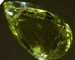 FACETED LEMON TOPAZ  BEAD 16.06 CTS 90332
