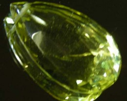 FACETED LEMON TOPAZ BEAD  10.37 CTS 90333