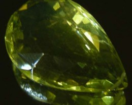 FACETED LEMON TOPAZ BEAD 14.42  CTS 90337