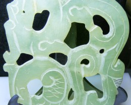 JADE CARVING  278.00 CTS   90616