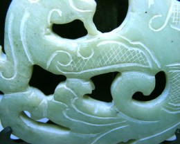 JADE CARVING 361.00 CTS   90617