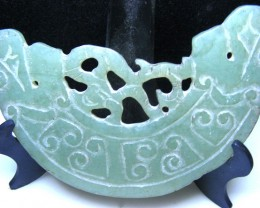 JADE CARVING  172.00 CTS   90619