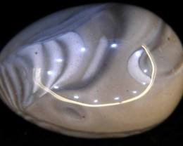 BANDED AGATE EGG  264.00 CTS  90456