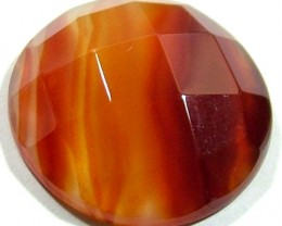 NATURAL AGATE FACETED STONE 17.40 CTS PG-716