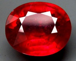 4.0 Carat VS Cherry (AA) Ruby - Gorgeous Earth Mined Gem