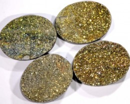 NATURAL DRUSY STONE (4PC SET) 29.50 CTS PG-749