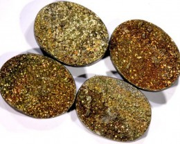 NATURAL DRUSY STONE (4PC SET) 34.50 CTS PG-750