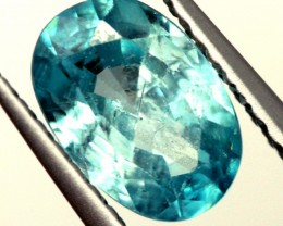 BLUE ZIRCON FACETED STONE 1.20 CTS  PG-1224