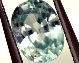 BLUE ZIRCON FACETED STONE 1.20 CTS  PG-1248
