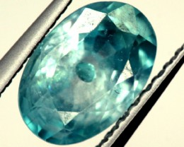 BLUE ZIRCON FACETED STONE 1.30 CTS  PG-1225