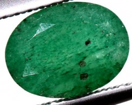 AVENTURINE FACETED EMERALD GREEN 1.30 CTS PG-675