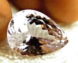 30.7 Carat VVS1 Purple Kunzite Pear Cut Beauty - Lovely