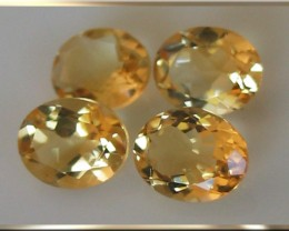 Brilliant Sunlit Citrine Gem Parcel 9.73cts Glittering gems