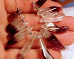 Lovely Amethyst Fan - 110 Total carats