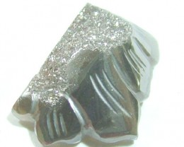 DRUZY CARVED STONE 16.45 CTS PG-759