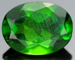 CHROME DIOPSIDE FROM RUSSIA  9x7   1.25 CTS [S5798  ]