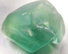 NATURAL LARGE  FLUORITE BEAD  -DRILLED 109.40 CTS [MX9766]