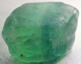 NATURAL LARGE  FLUORITE BEAD  -DRILLED 121.00 CTS [MX9769]