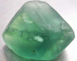 NATURAL LARGE  FLUORITE BEAD  -DRILLED 92.95 CTS [MX9771]