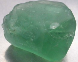 NATURAL LARGE  FLUORITE BEAD  -DRILLED 83.25 CTS [MX9781]