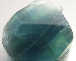 NATURAL LARGE  FLUORITE BEAD  -DRILLED 72.95 CTS [MX9787]