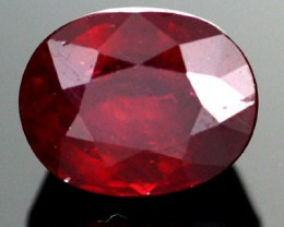 AFRICAN RUBY STONE BLOOD RED  5.40  CTS [S6012 ]